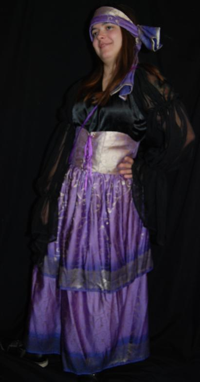 Gypsy Girl Costume for Halloween