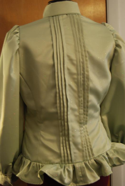 Victorian Era Blouse (back)